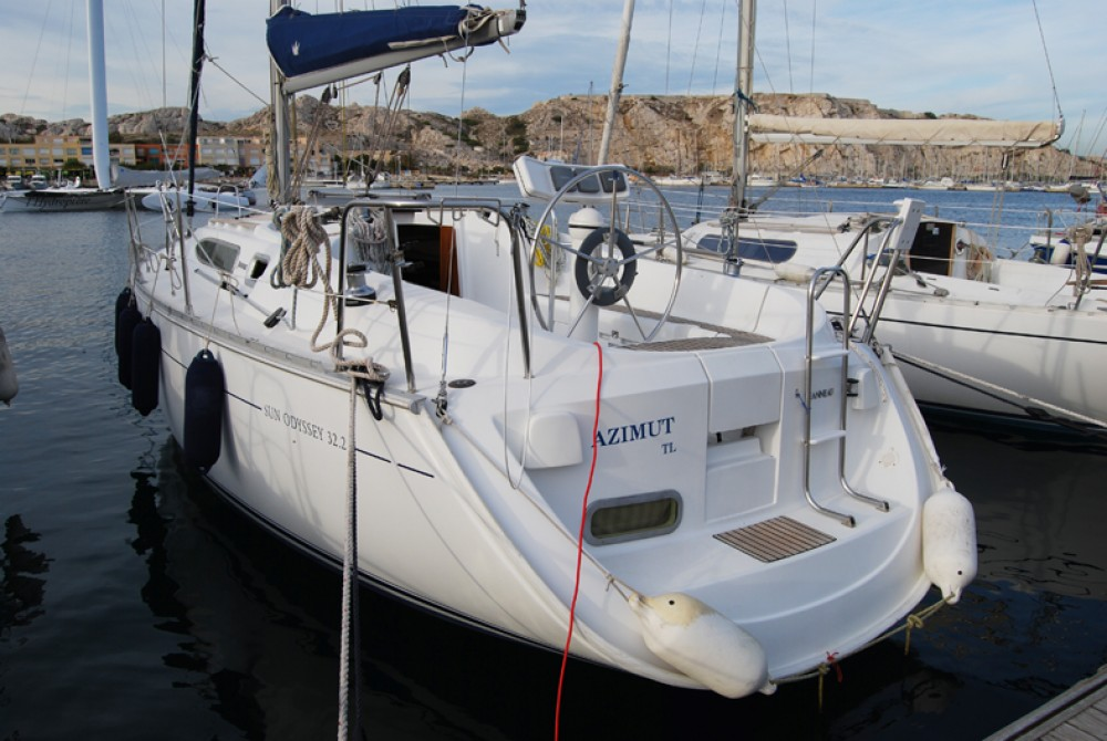 Bootverhuur Jeanneau Sun Odyssey 32.2 in Port du Frioul via SamBoat