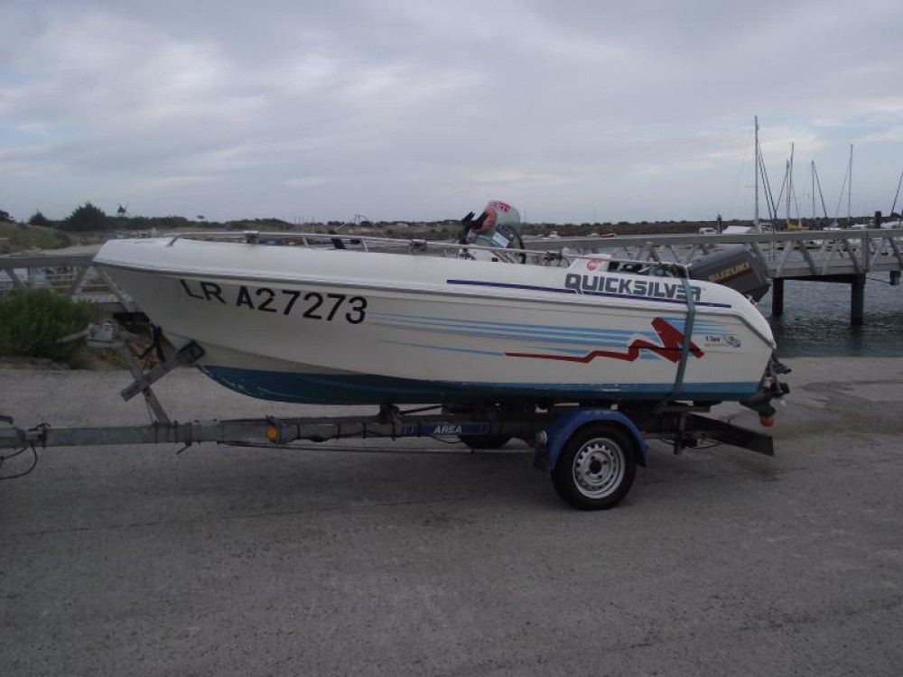 Motorboot mieten in  - Quicksilver Quicksilver 450
