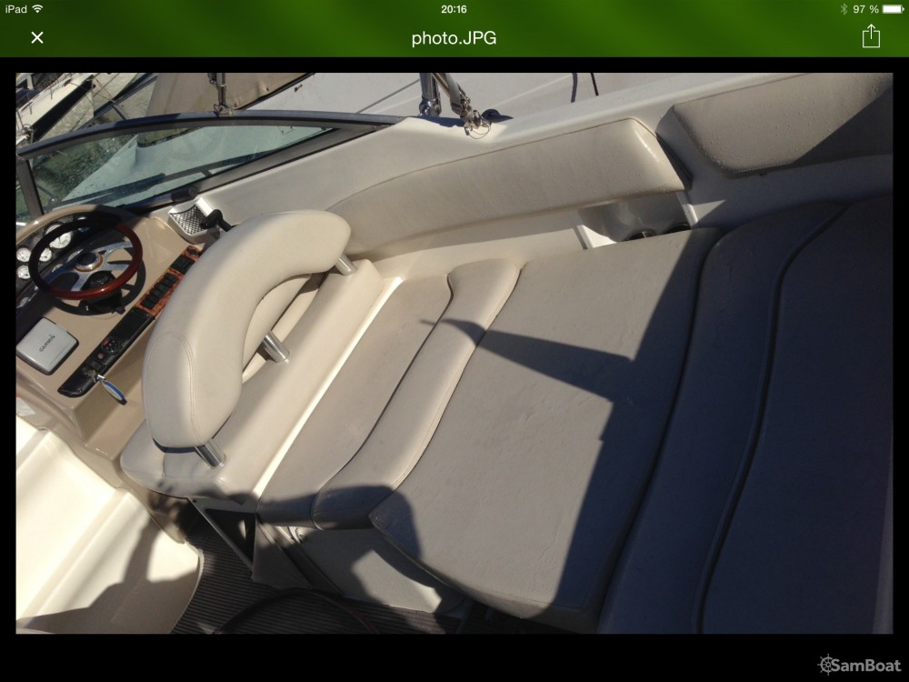 Hire Motor boat with or without skipper Larson Fréjus
