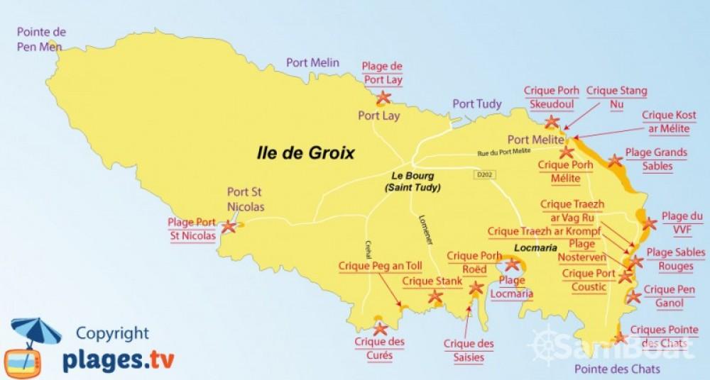 Alquiler de barcos Lorient barato de 500