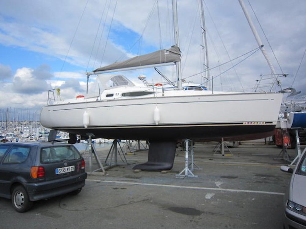 Alquiler Velero Kirie con título de navegación