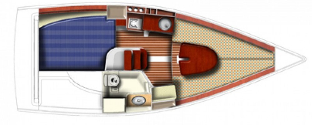 Zeilboot te huur in La Trinité-sur-Mer voor de beste prijs