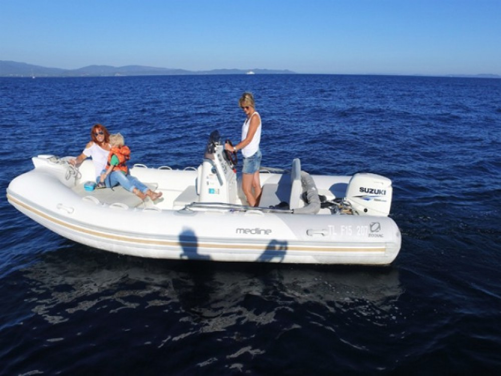 Jachthuur in Hyères - Zodiac Medline 500 via SamBoat