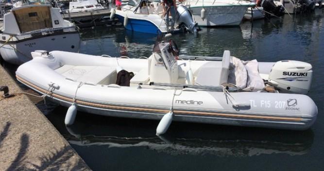 Location bateau Zodiac Medline 500 à Hyères sur Samboat