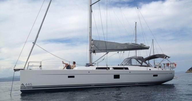 noleggio Barca a vela Palermo - Hanse Hanse 445