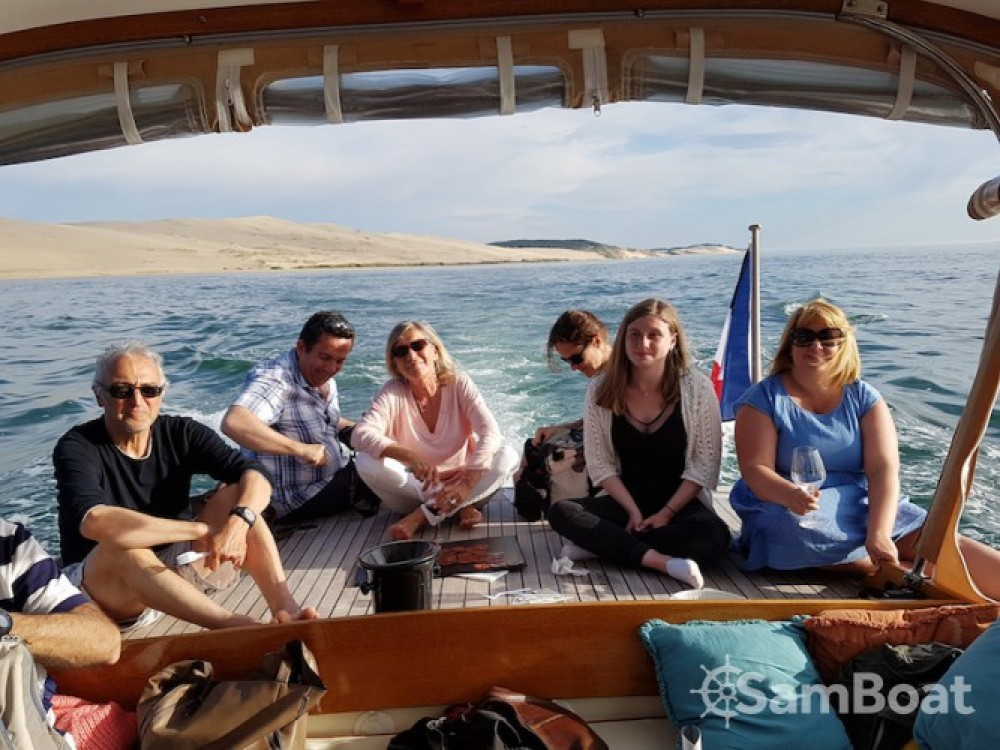 "noleggio Barca a motore Arcachon - Raba Pinasse ""Cruiser"""