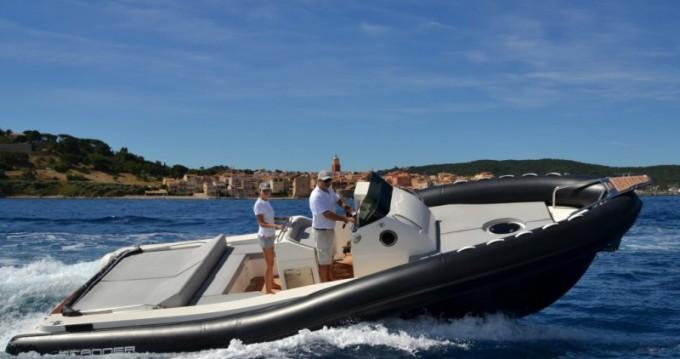Louer Semi-rigide avec ou sans skipper Scanner à Saint-Tropez
