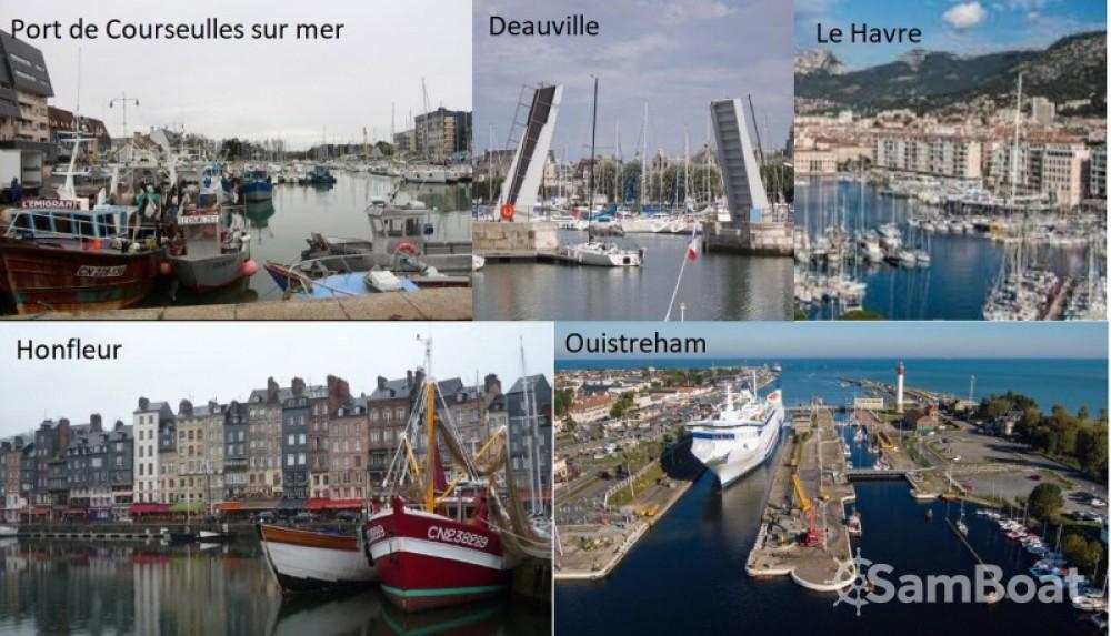 Motorboot te huur in Dives-sur-Mer voor de beste prijs