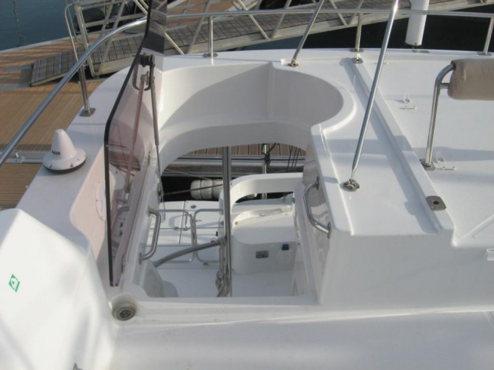Fountaine Pajot Summerland 40 between personal and professional La Trinité-sur-Mer