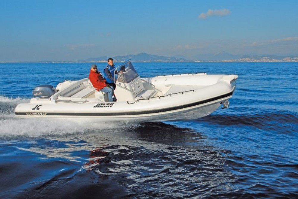 Rental RIB Joker Boat with a permit