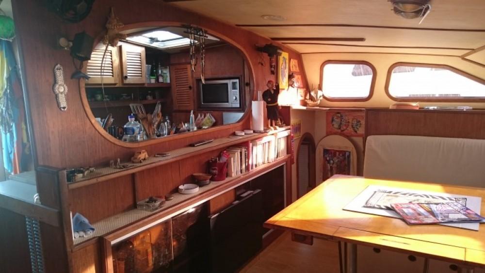 Location Catamaran à Le Marin - Chantier-Du-Lez plan carof lazzy 54