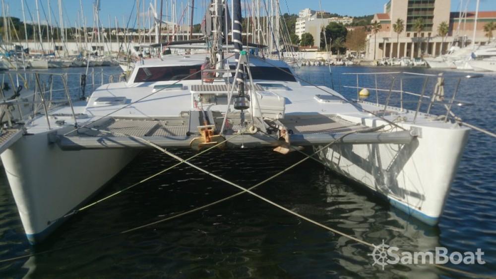 Bootsverleih Chantier-Du-Lez plan carof lazzy 54 Le Marin Samboat