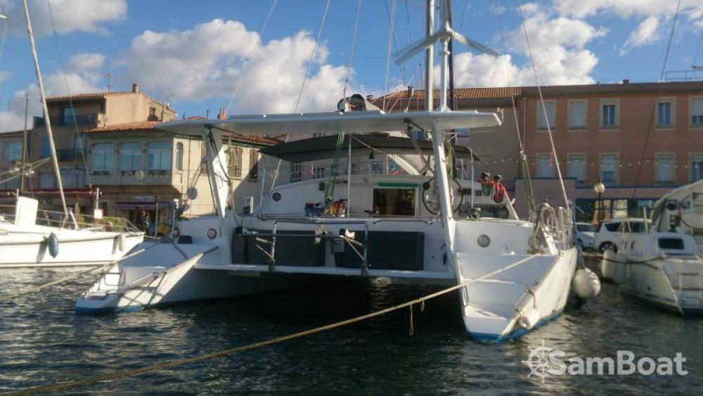 Location bateau Chantier-Du-Lez plan carof lazzy 54 à Le Marin sur Samboat