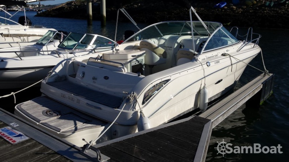 Motorboot mieten in Larmor-Plage - Sea Ray Sea Ray 235 Weekender