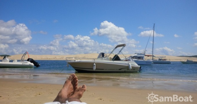Boat rental Andernos-les-Bains cheap Cap Camarat 635 Style