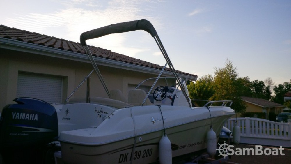 Motor boat for rent Andernos-les-Bains at the best price