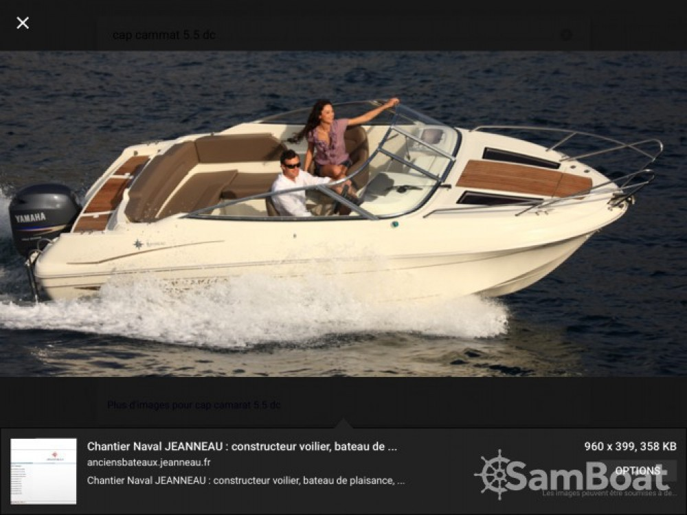 Jachthuur in Fréjus - Jeanneau Cap Camarat 550 Style via SamBoat