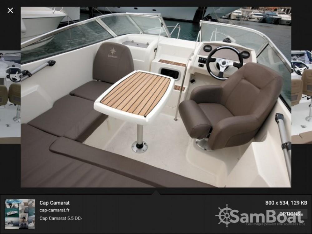 Jeanneau Cap Camarat 550 Style zwischen Privatpersonen und professionellem Anbieter Fréjus