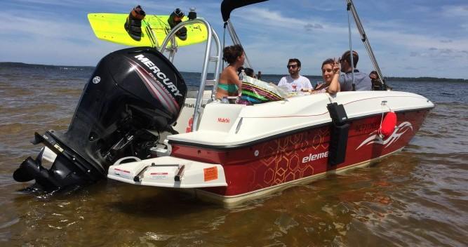 Boat rental Lacanau cheap Element XL