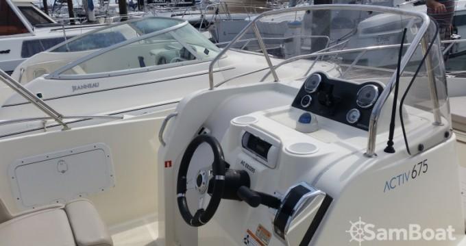 Location bateau Quicksilver Activ 675 Open à Parentis-en-Born sur Samboat