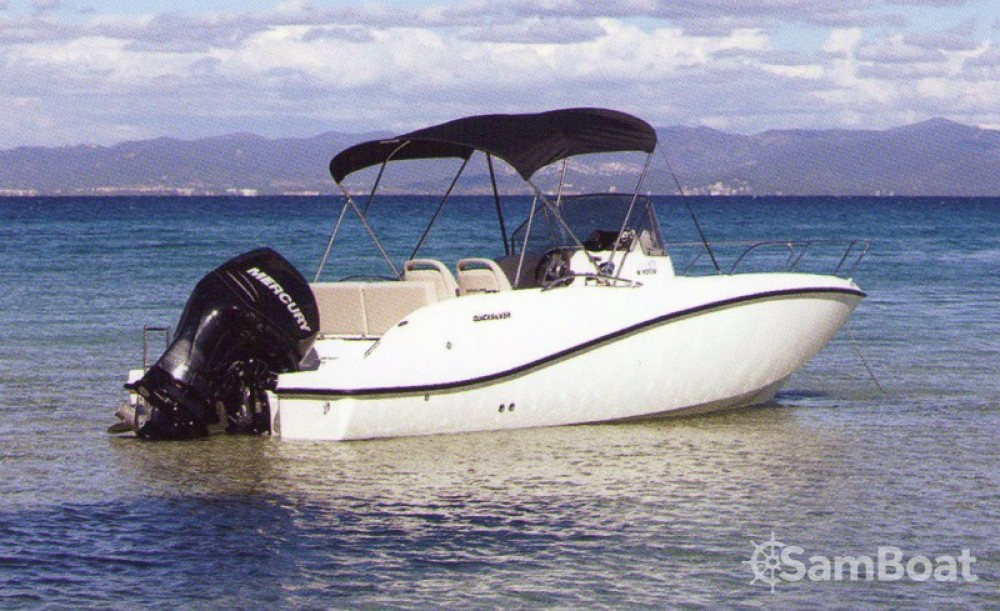 Hire Motor boat with or without skipper Quicksilver Parentis-en-Born
