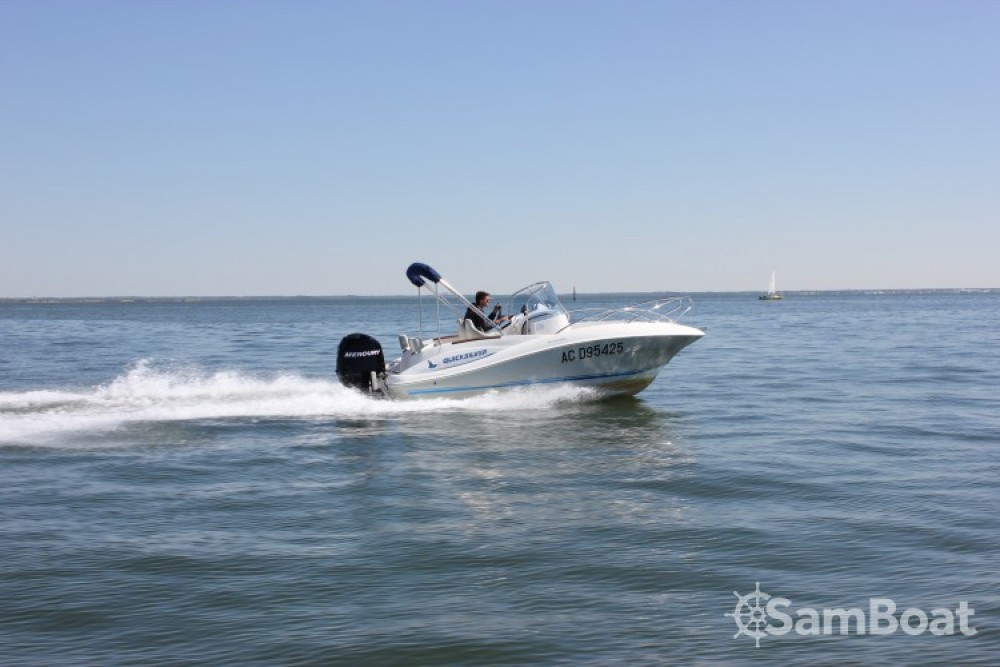 Ein Quicksilver Quicksilver 555 Commander mieten in Andernos-les-Bains