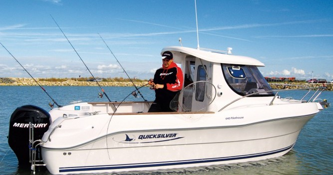 Location yacht à Lorient - Quicksilver Quicksilver 640 Pilothouse sur SamBoat