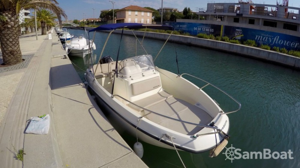 Jachthuur in Fréjus - Quicksilver Activ 605 Open via SamBoat