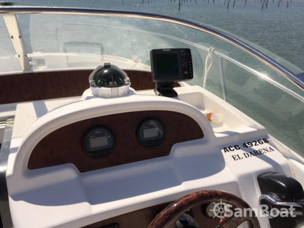 Huur Motorboot met of zonder schipper Jeanneau in Arcachon