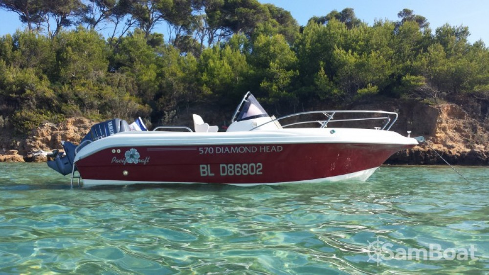 Verhuur Motorboot in La Ciotat - Pacific Craft Pacific craft 570 Diamond Head