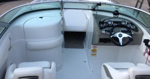 Vermietung Motorboot Crownline mit Führerschein