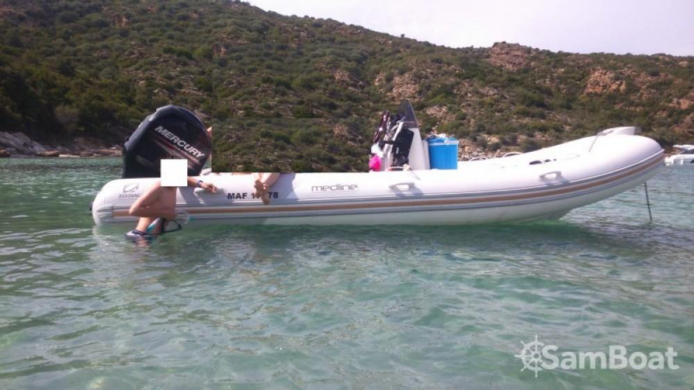 Noleggio Gommone con o senza skipper Zodiac Marsiglia