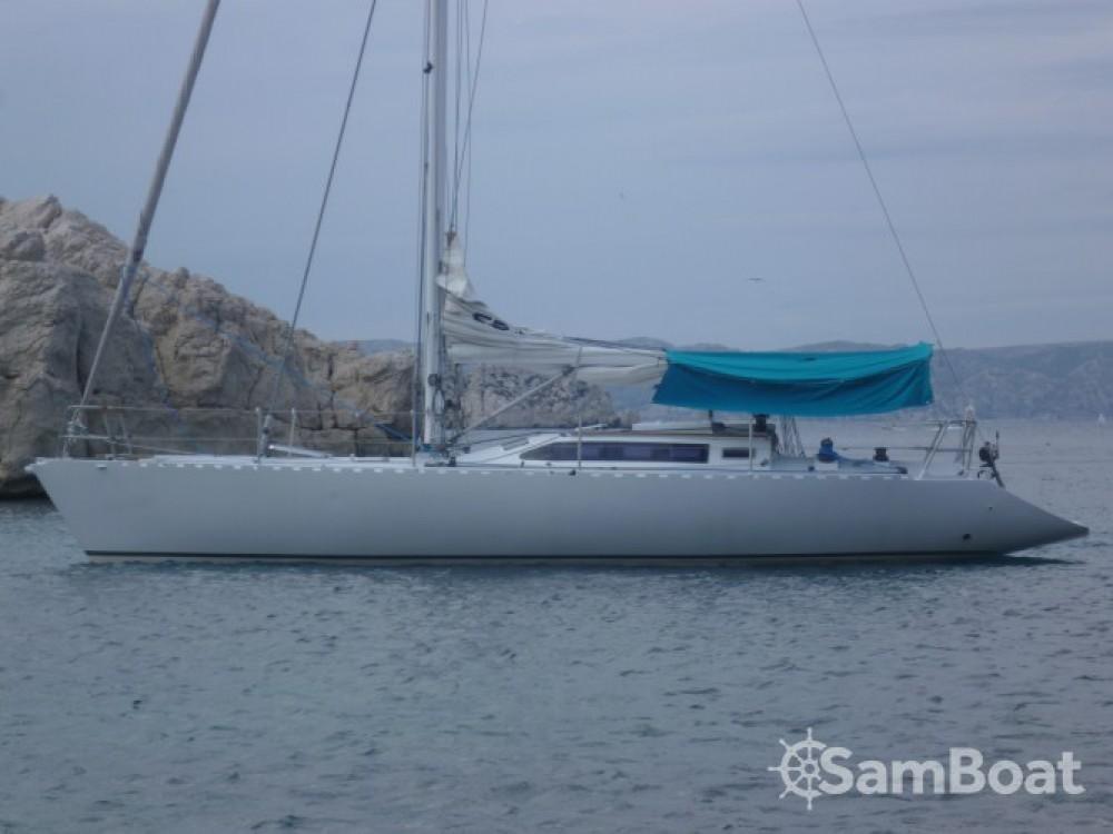 Vermietung Segelboot Alu-Boat-Prestige mit Führerschein