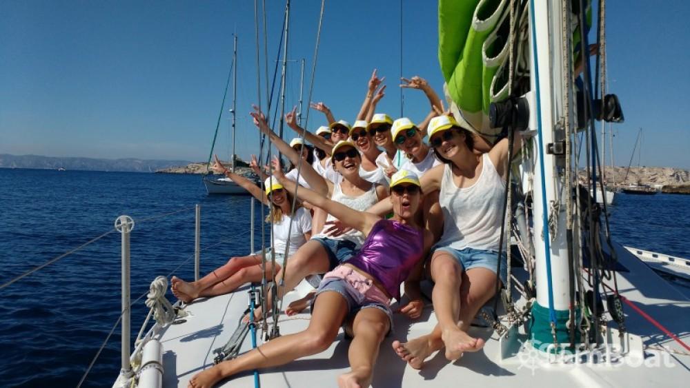 Segelboot mit oder ohne Skipper Alu-Boat-Prestige mieten in Marseille