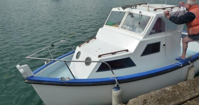Location Bateau à moteur à Plougasnou - Syla Pêche promenade 6,46m