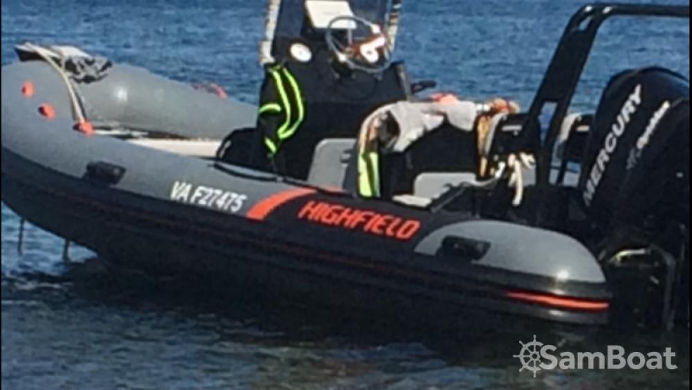 Highfield Ocean Master 540 entre particuliers et professionnel à Saint-Malo