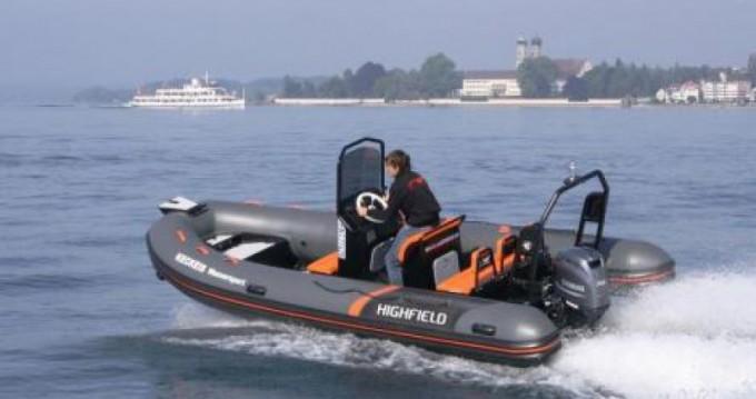 Location bateau Highfield Ocean Master 540 à Saint-Malo sur Samboat