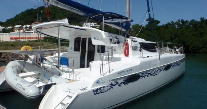 Location bateau Le Marin pas cher Mahe 36 Evolution