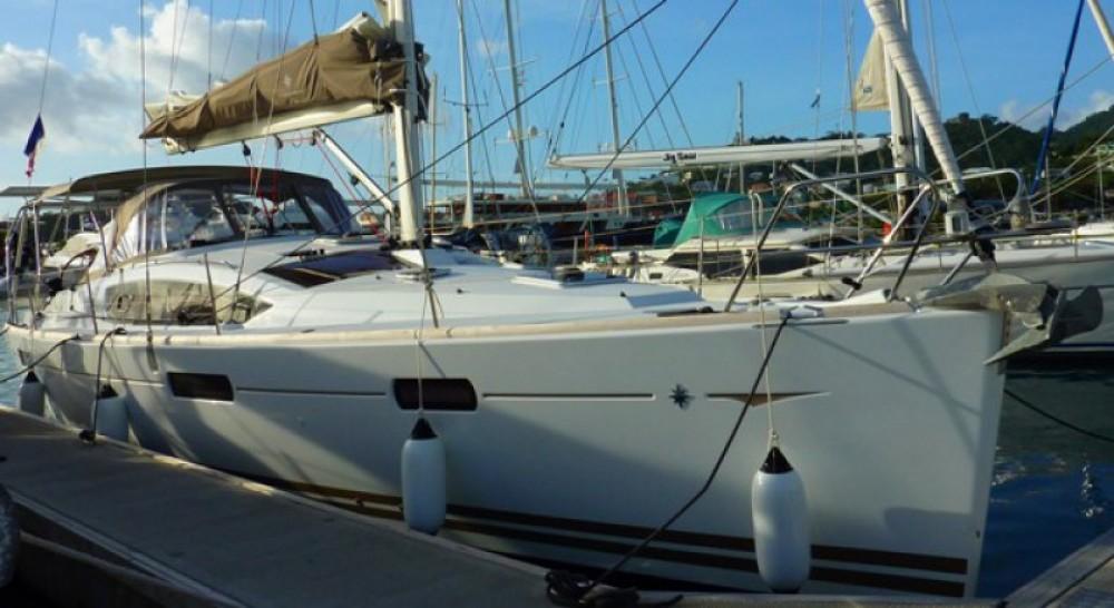 Jeanneau Sun Odyssey 42 DS entre particuliers et professionnel à Le Marin