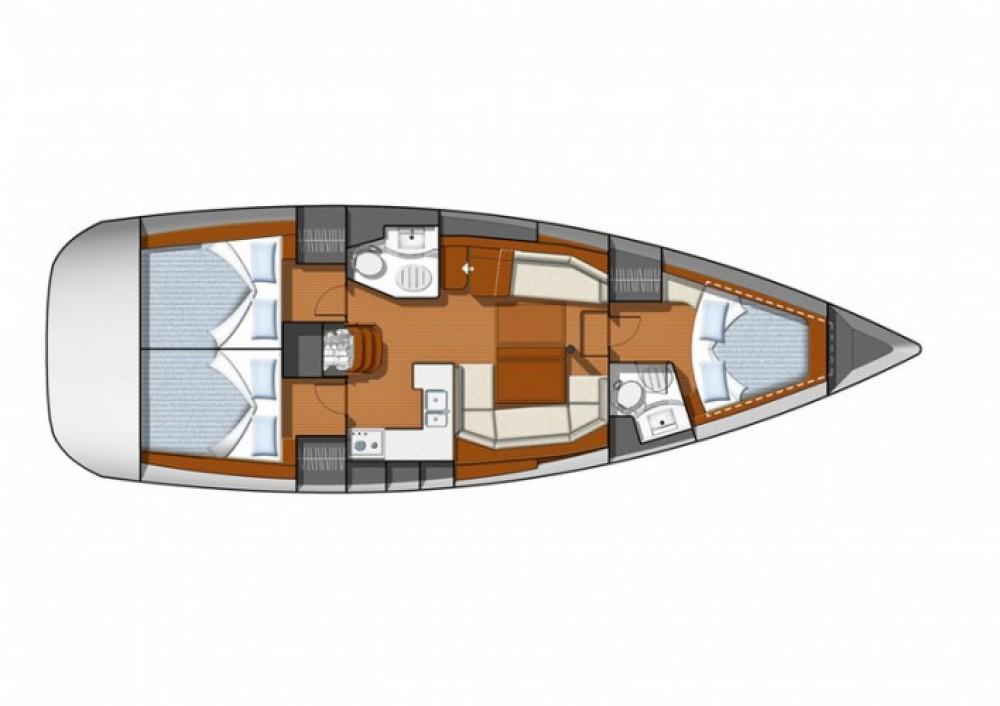 Yacht-Charter in Le Marin - Jeanneau Sun Odyssey 42 DS auf SamBoat