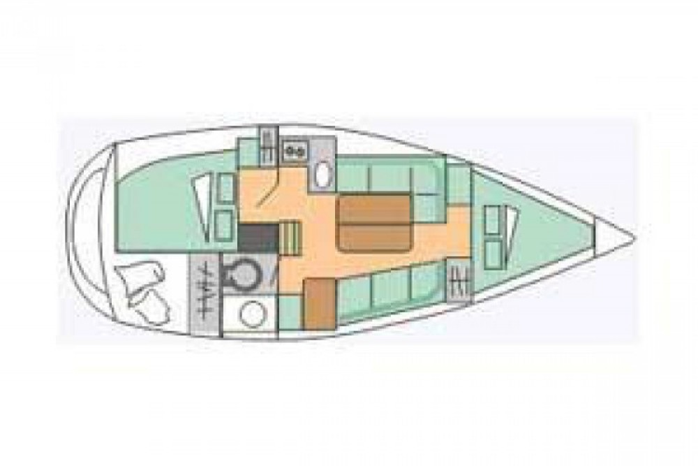 Hire Sailboat with or without skipper Gibert Marine Flamanville