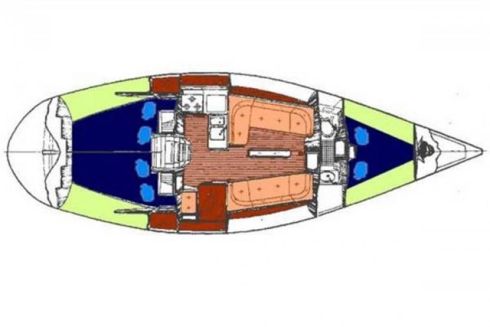 Huur Zeilboot met of zonder schipper Bénéteau in Flamanville