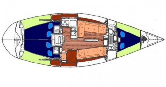 Location bateau Bénéteau First 345 à Flamanville sur Samboat