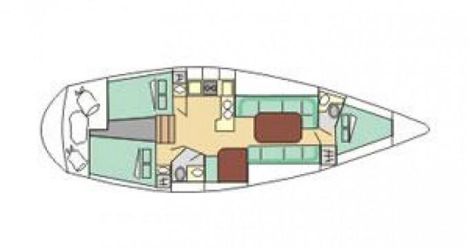 Alquiler de barcos Tréauville barato de Gib Sea 116