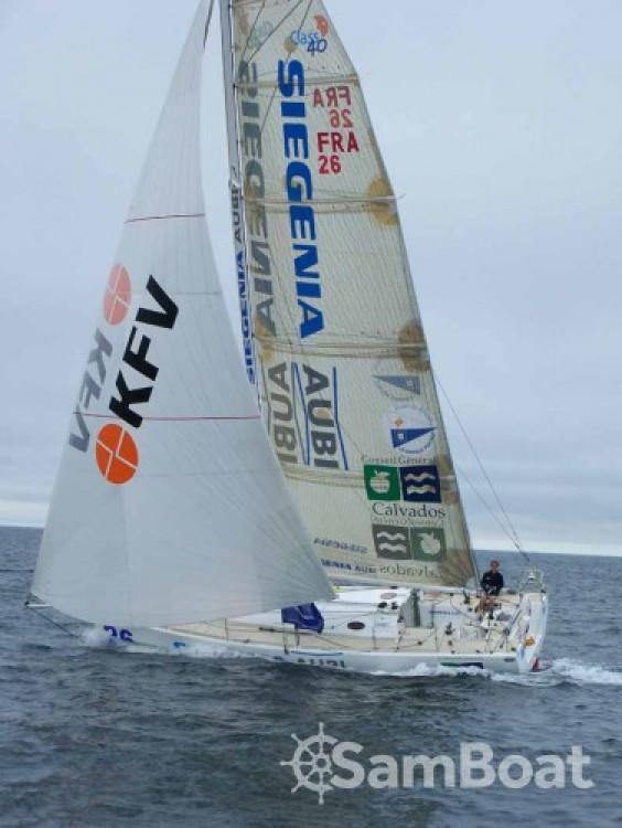 Huur Zeilboot met of zonder schipper Jumbo in Flamanville