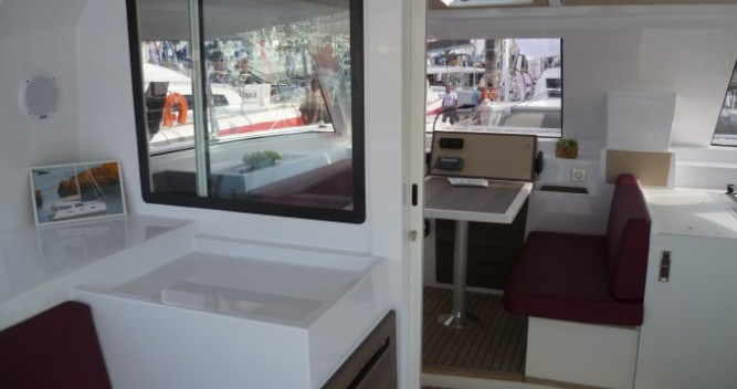 Location bateau Le Marin pas cher Nautitech Open 40