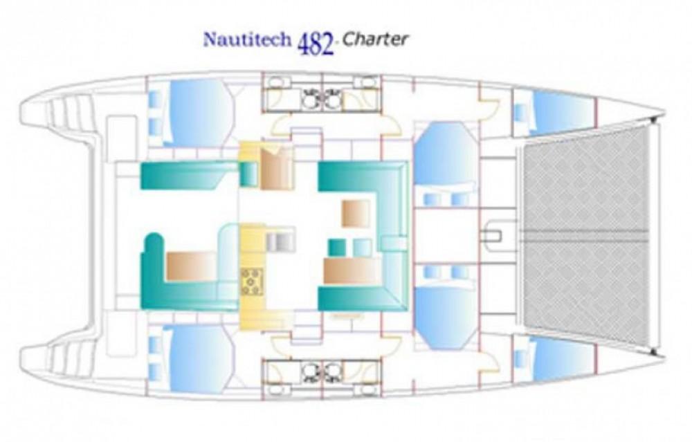 Yacht-Charter in Le Marin - Nautitech Nautitech 482 auf SamBoat