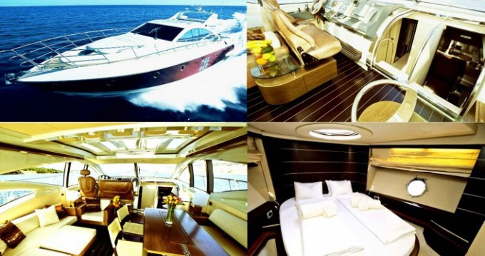 Location bateau Ajaccio pas cher Azimut 68 S