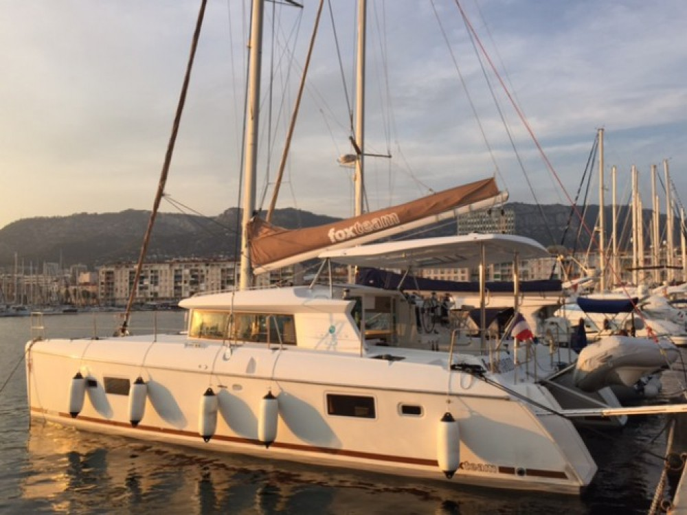 Rental Catamaran in Toulon - Lagoon Lagoon 420