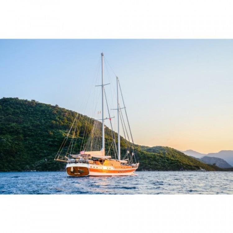 Deluxe-Yachts WICKED FELINA zwischen Privatpersonen und professionellem Anbieter Marmaris